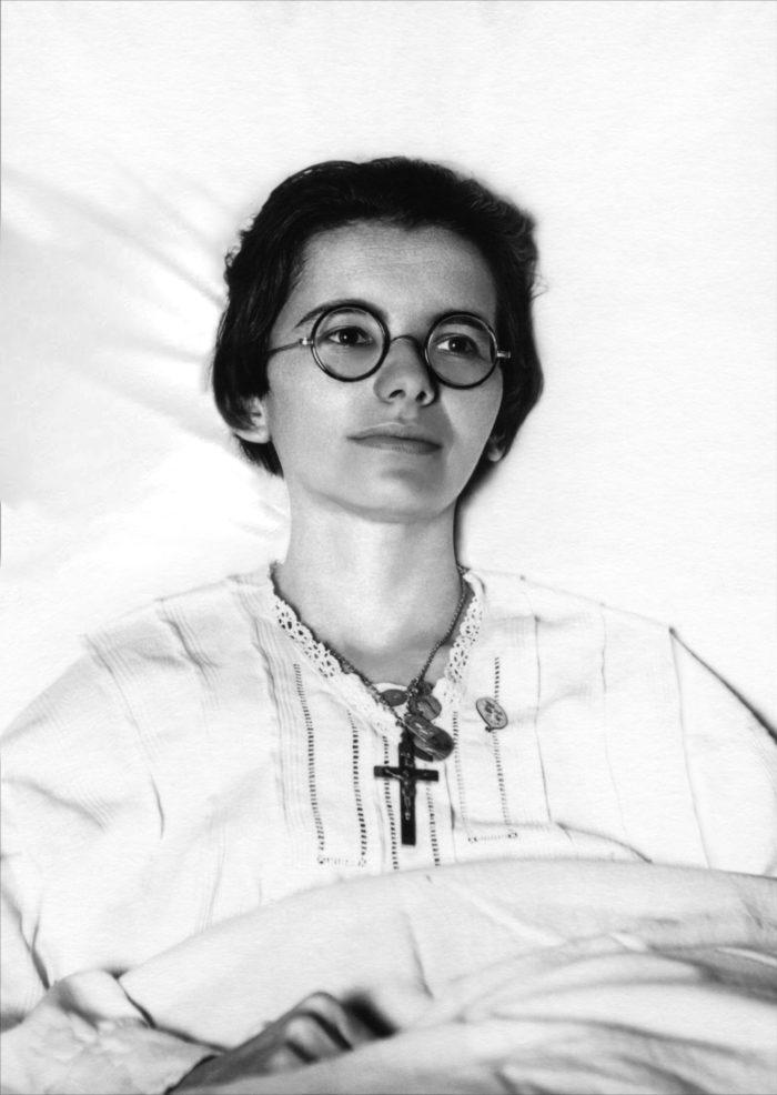 Portrait de Marthe Robin à 28 ans