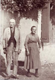 Les parents de Marthe, Joseph et Célestine Robin