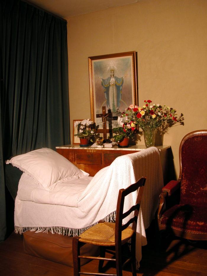 Chambre de Marthe Robin