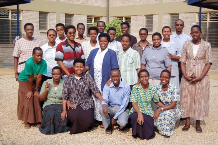 Membres du Foyer de Charité de Bujumbura (Burundi)