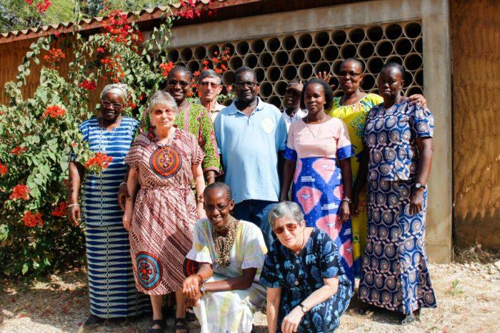 Membres du Foyer de Charité du Cap des Biches (Sénégal)
