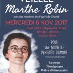 """Veillée Marthe Robin à Paris : """"Pour une nouvelle Pentecôte d'Amour"""""""