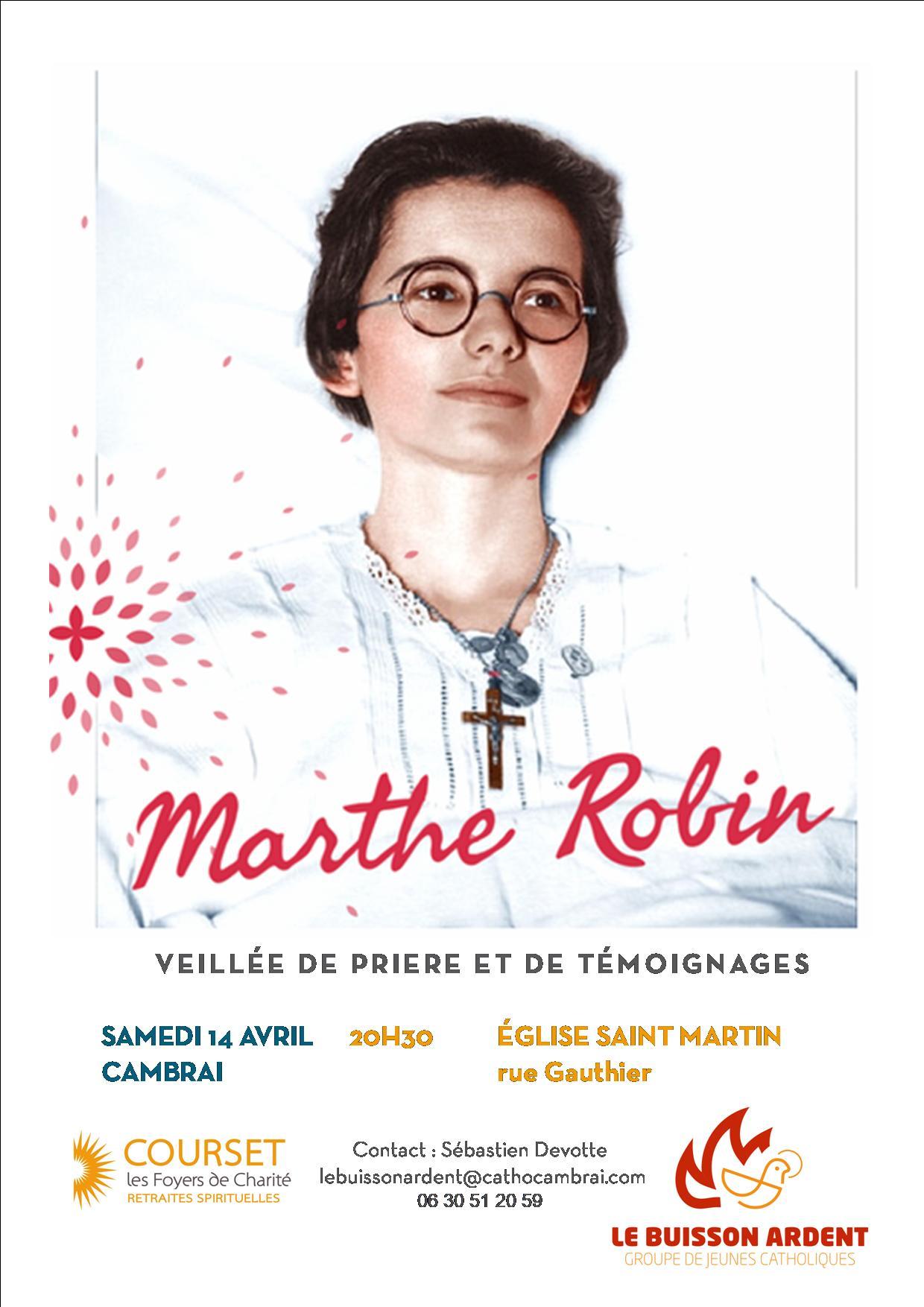 Veillée Marthe Robin à Cambrai