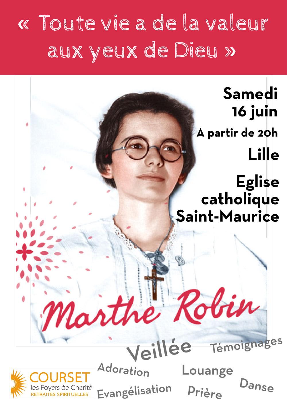Veillée Marthe Robin à Lille