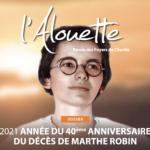 Alouette – numéro spécial Marthe Robin